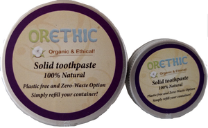 Refillable Toothpaste - Orethic.com