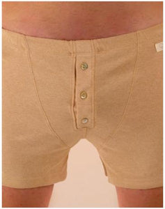 Underwear: Boxers with Buttons Organic Cotton for Men - Orethic.com