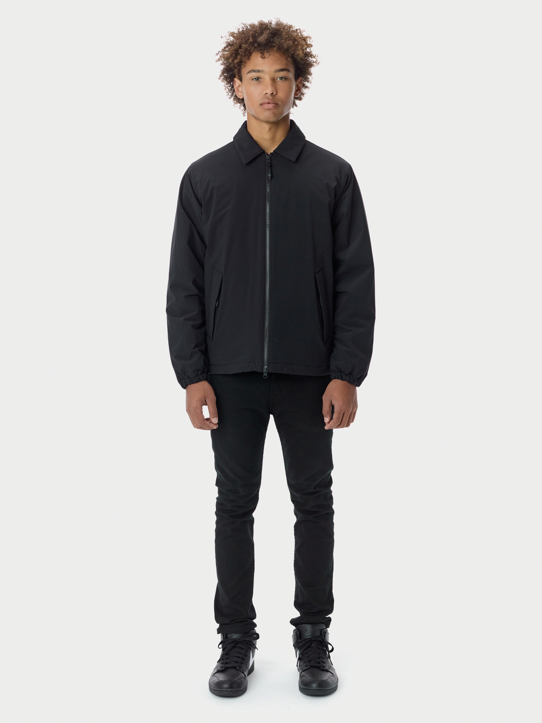 Filled Harrington - Black Harrington - Black