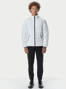 Quilted ThroughLiteloft Puffer- White [bomber_Vandal], [The Very Warm], [The Very Warm]