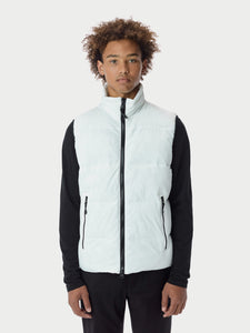 Filled BubblePuffer Vest - White [bomber_Vandal], [The Very Warm], [The Very Warm]