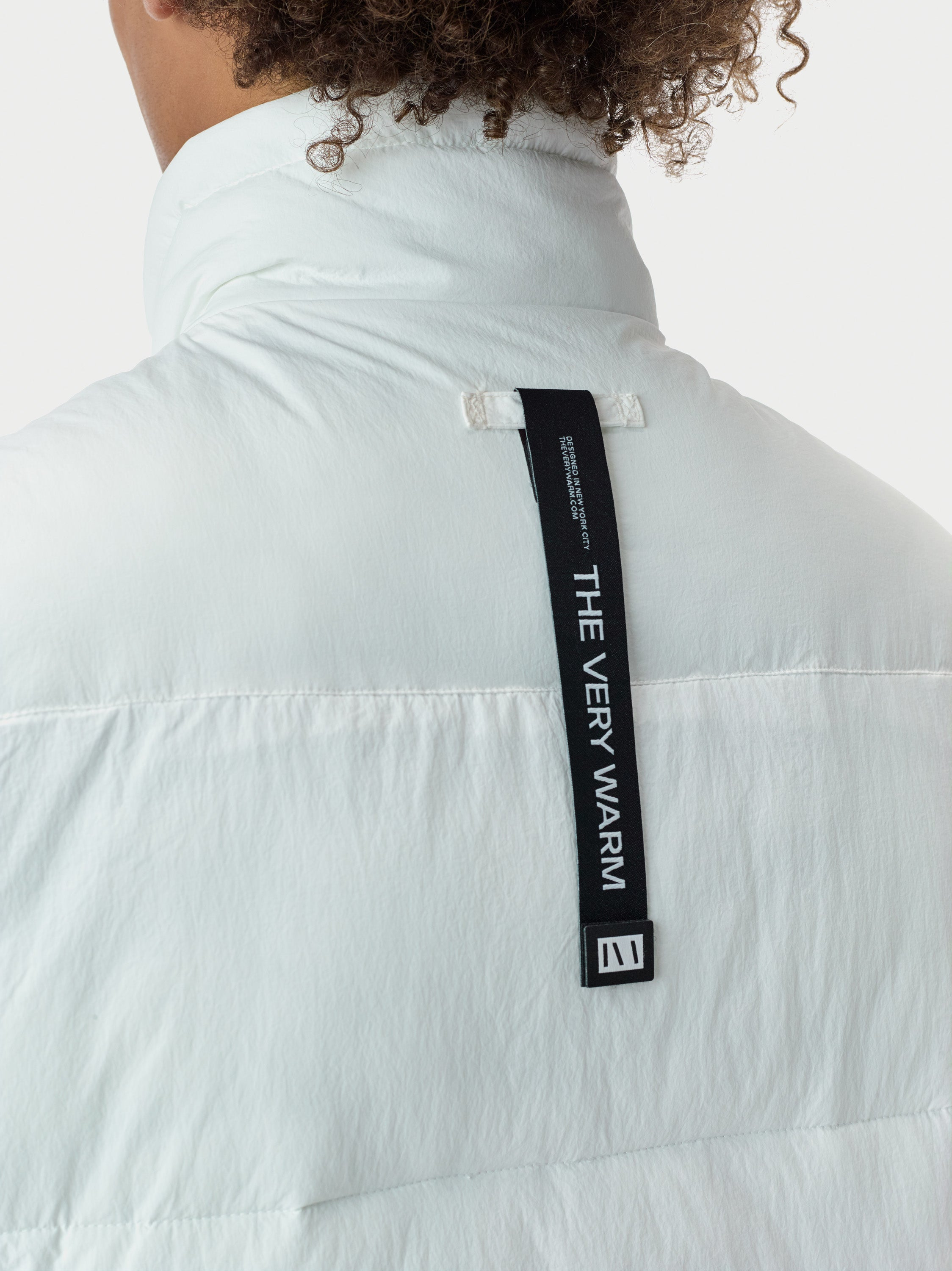 Filled Bubble Puffer Vest - White [bomber_Vandal], [The Very Warm], [The Very Warm]
