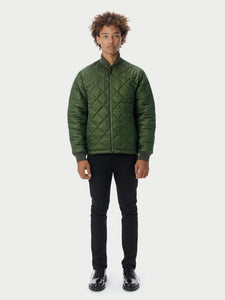 Quilted ThroughQuilted Bomber - Olive [bomber_Vandal], [The Very Warm], [The Very Warm]