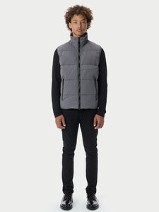 Filled BubblePuffer Vest - Grey [bomber_Vandal], [The Very Warm], [The Very Warm]