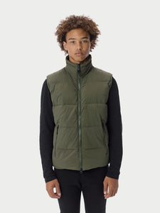 Filled BubblePuffer Vest - Olive [bomber_Vandal], [The Very Warm], [The Very Warm]
