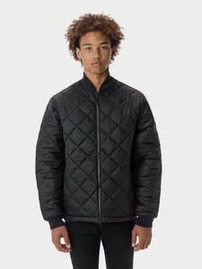Quilted ThroughQuilted Bomber - Black Quilted Bomber - Black