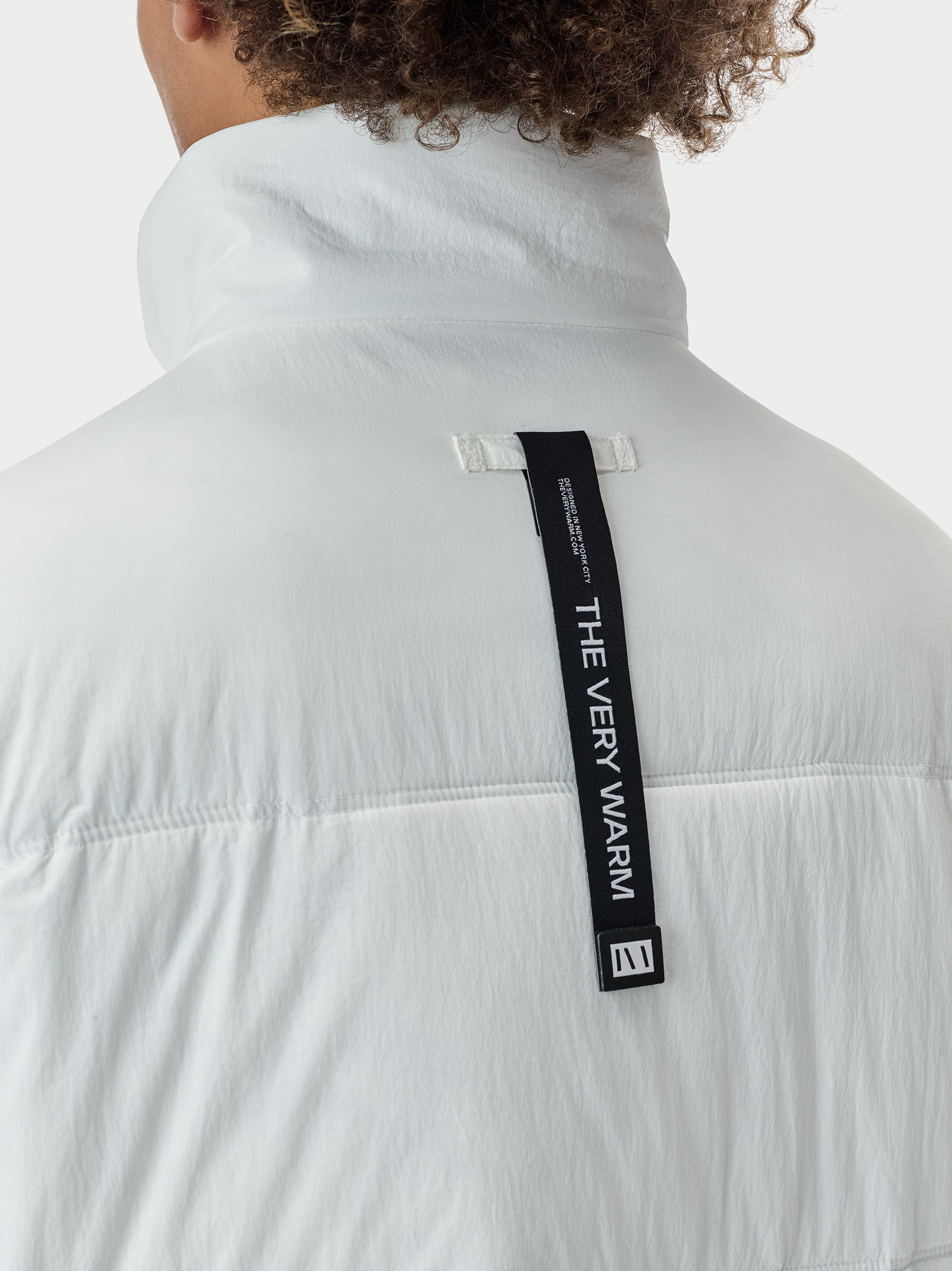 Puffer Puffer Coat - White [bomber_Vandal], [The Very Warm], [The Very Warm]