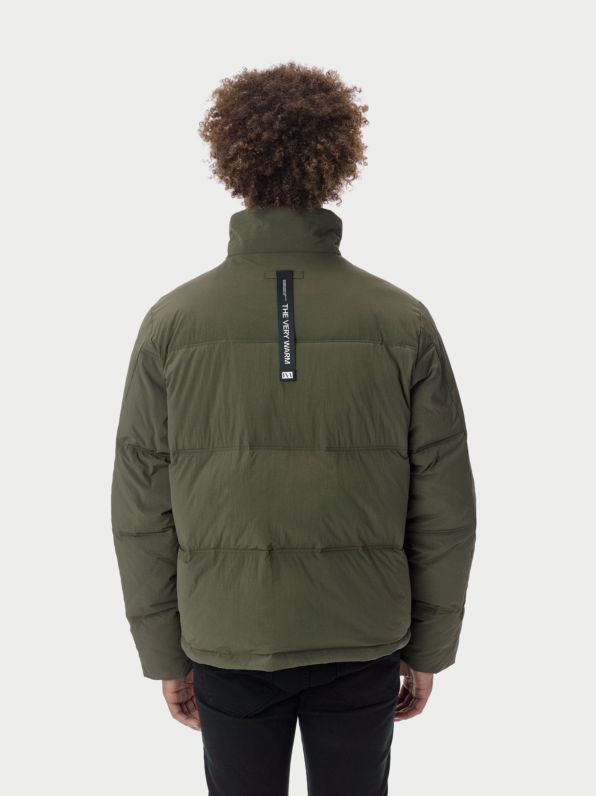Puffer Puffer Coat - Olive [bomber_Vandal], [The Very Warm], [The Very Warm]