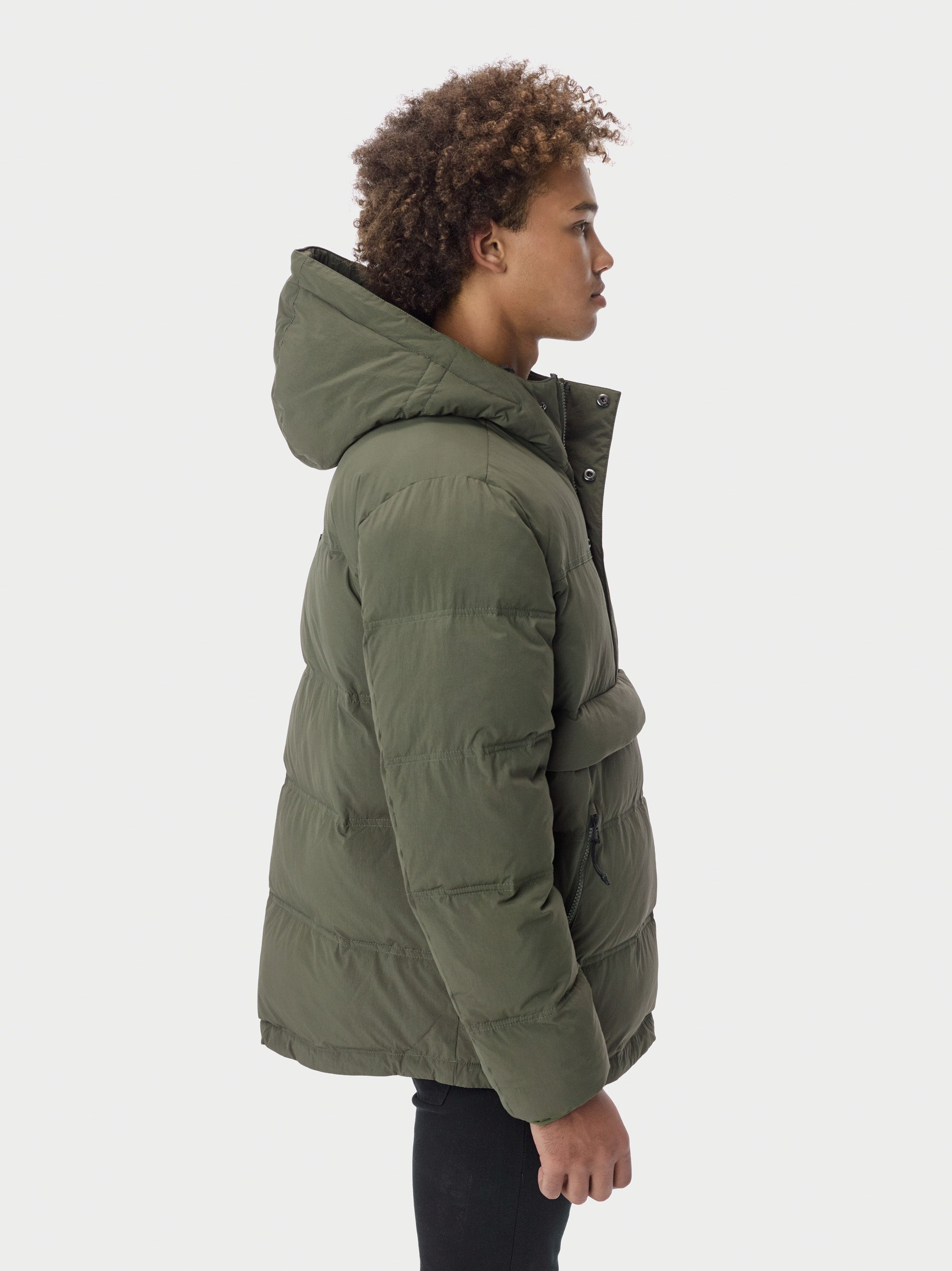Puffer Anorak Puffer - Olive [bomber_Vandal], [The Very Warm], [The Very Warm]