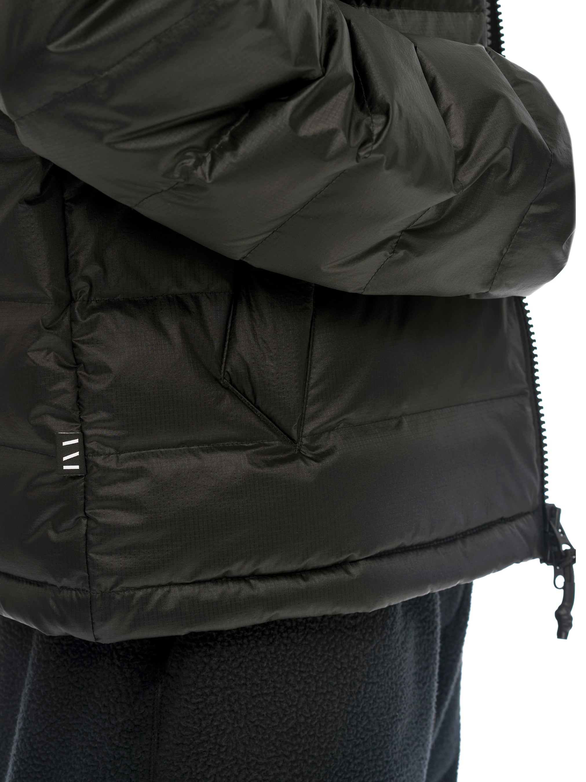 Quilted Through Ultra Liteloft Puffer- Black [bomber_Vandal], [The Very Warm], [The Very Warm]