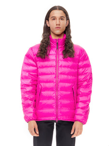 Quilted ThroughUltra Liteloft Puffer- Fuchsia [bomber_Vandal], [The Very Warm], [The Very Warm]