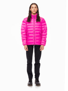Quilted ThroughLiteloft Puffer- Fuchsia [bomber_Vandal], [The Very Warm], [The Very Warm]