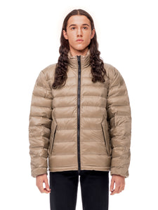 Quilted ThroughUltra Liteloft Puffer- Khaki [bomber_Vandal], [The Very Warm], [The Very Warm]