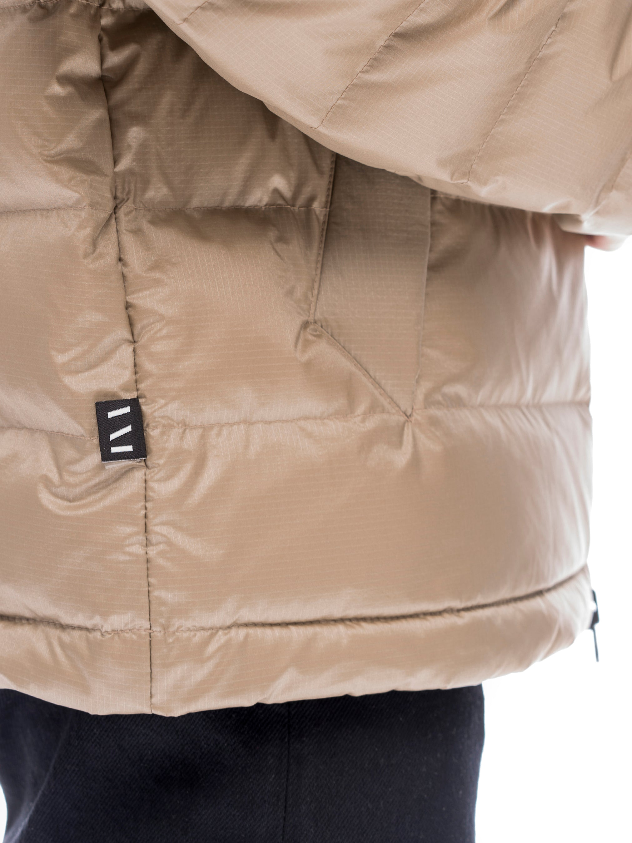 Quilted Through Ultra Liteloft Puffer- Khaki [bomber_Vandal], [The Very Warm], [The Very Warm]