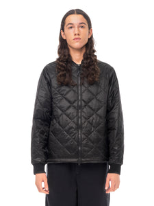 Quilted ThroughLight Quilted Bomber - Black [bomber_Vandal], [The Very Warm], [The Very Warm]