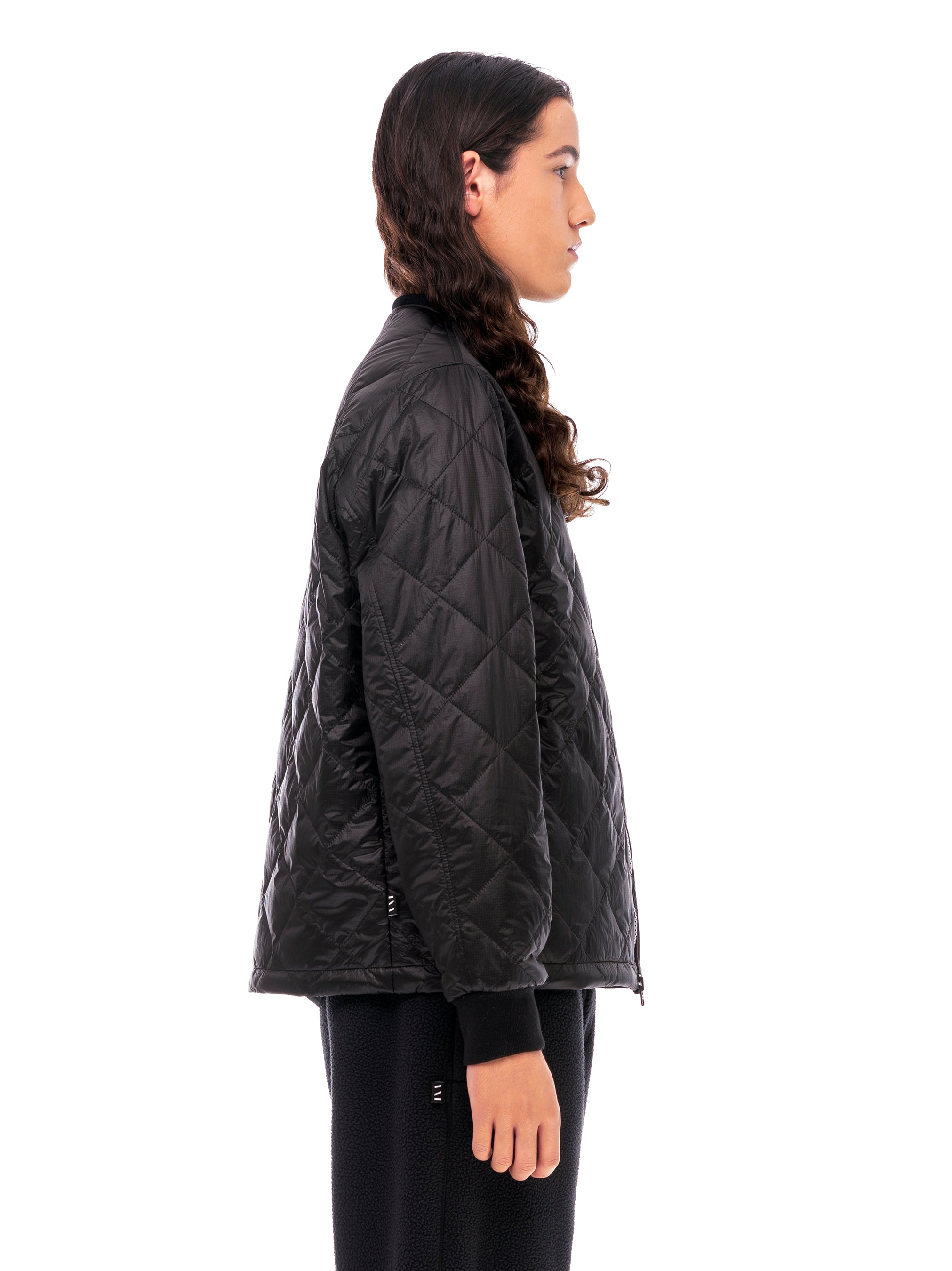 Quilted Through Quilted Bomber - Black [bomber_Vandal], [The Very Warm], [The Very Warm]