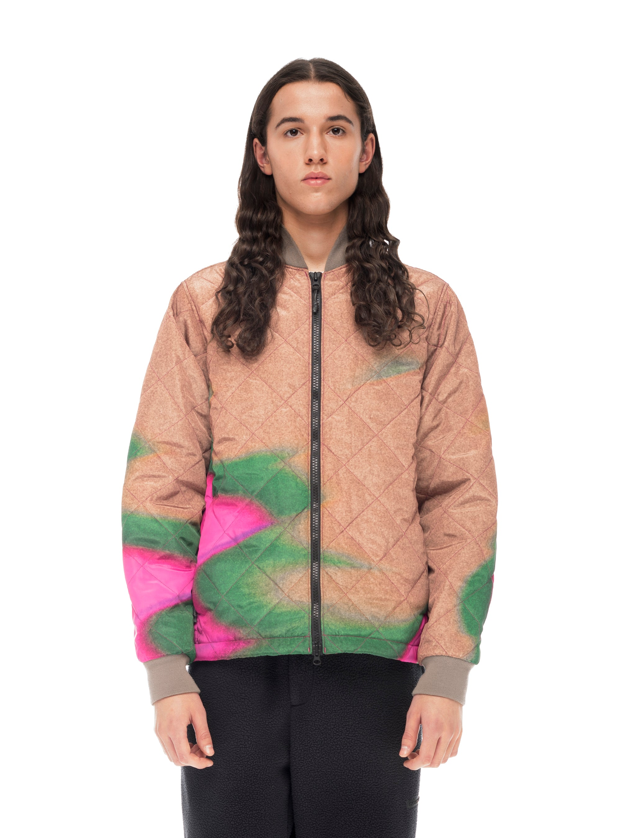 Quilted Through Light Quilted Bomber - Chuck Anderson [bomber_Vandal], [The Very Warm], [The Very Warm]