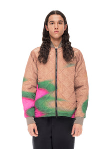 Quilted ThroughLight Quilted Bomber - Chuck Anderson [bomber_Vandal], [The Very Warm], [The Very Warm]