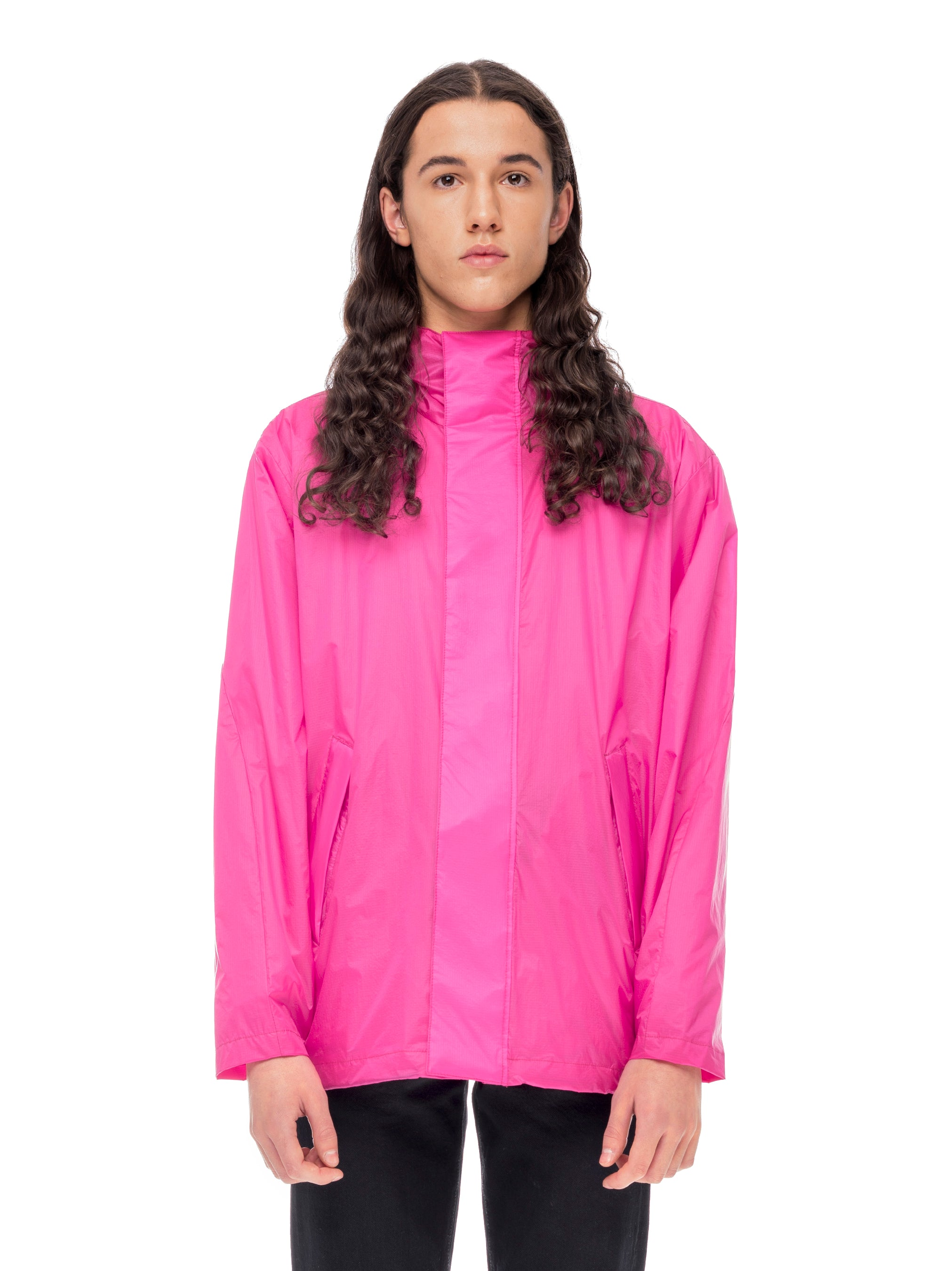 Windbreaker Hooded Windbreaker - Fuchsia [bomber_Vandal], [The Very Warm], [The Very Warm]