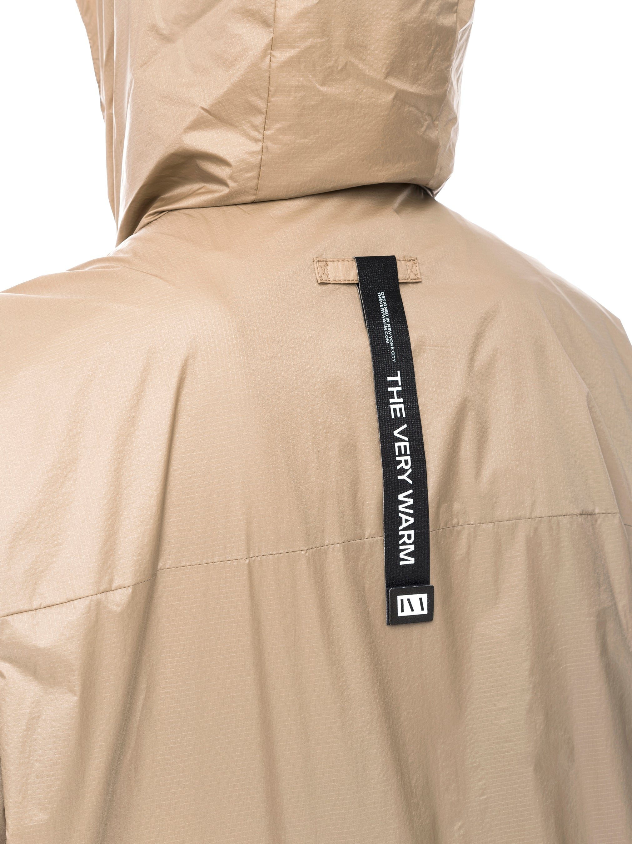 Windbreaker Hooded Windbreaker - Khaki [bomber_Vandal], [The Very Warm], [The Very Warm]