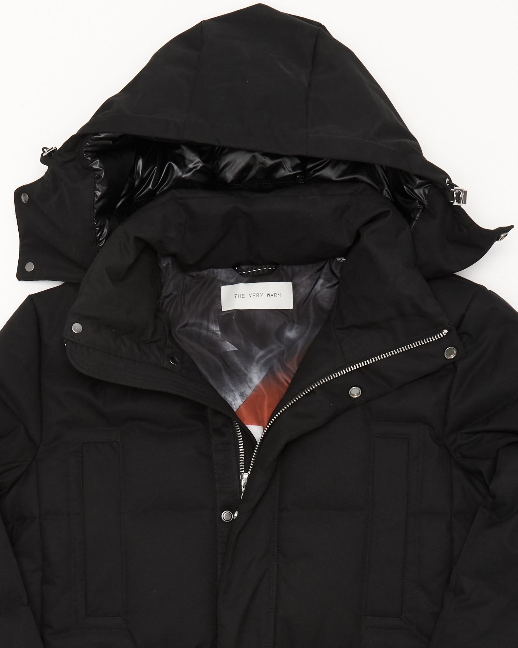 Artist Series Mens Long Down Parka - Black Mens Long Down Parka - Black