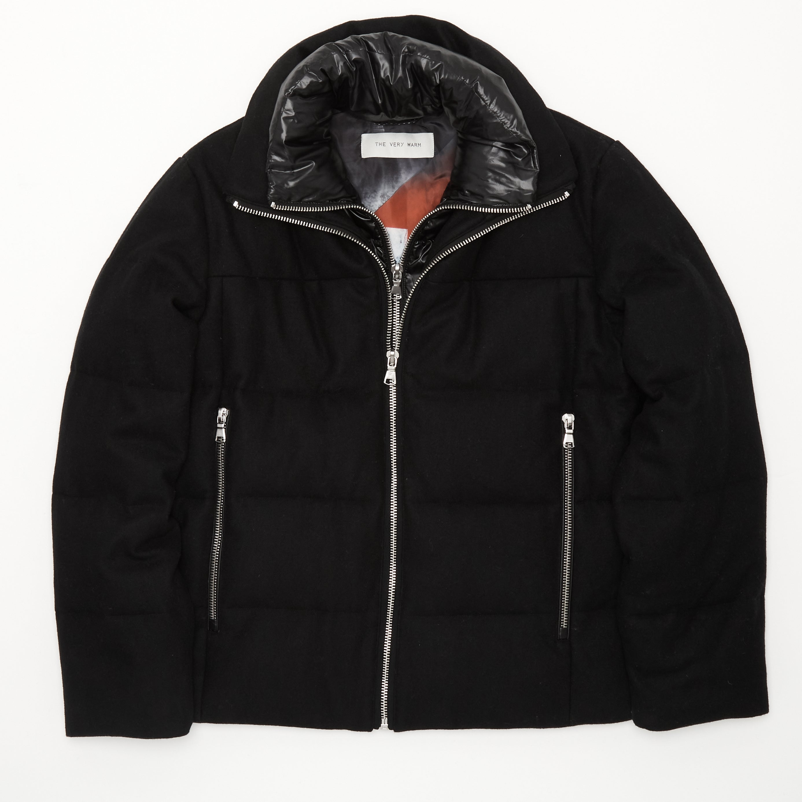 Artist Series Mens Wool Puffer - Black Mens Wool Puffer - Black