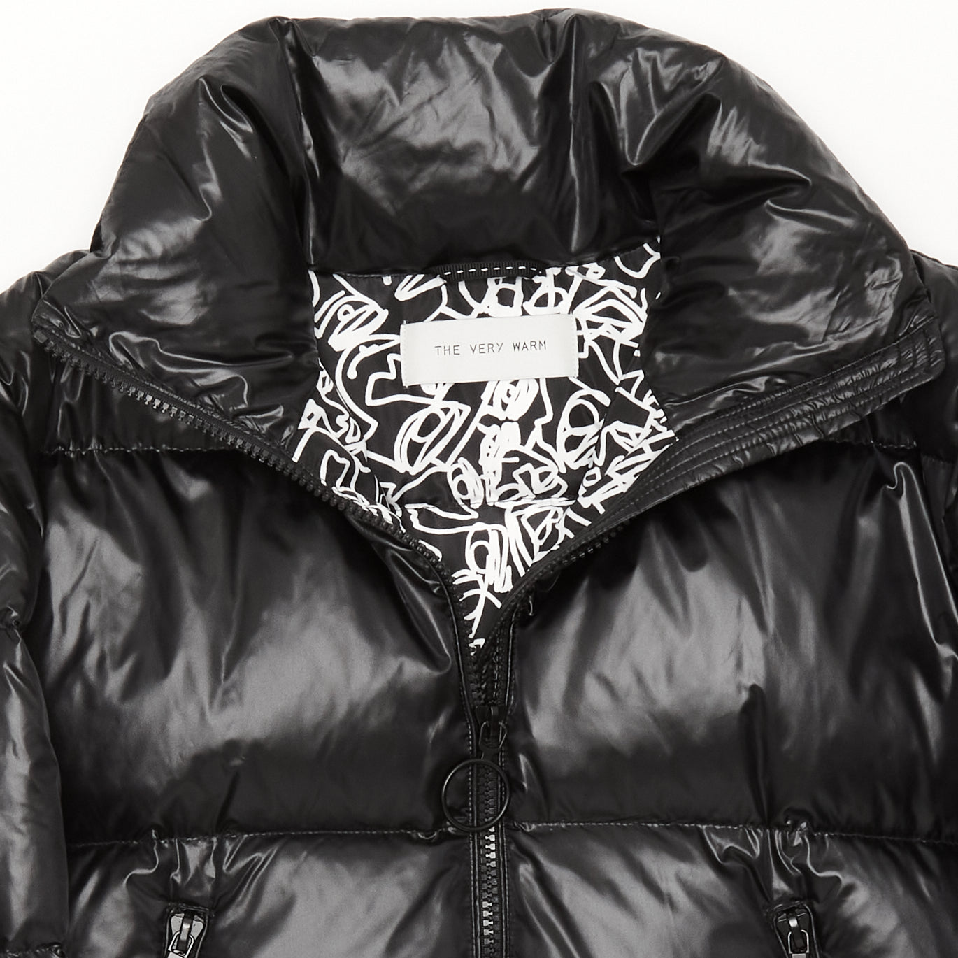 Artist Series Womens Down Puffer - Black Womens Down Puffer - Black