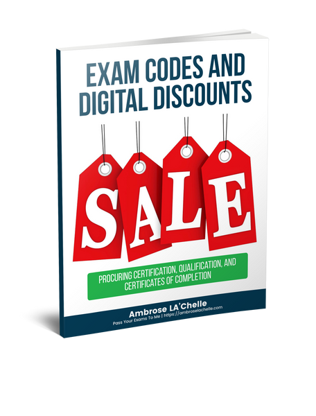 Exam Codes And Digital Discounts Ebook