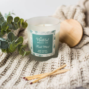 Fresh Mint Soy Wax Candle 30cl