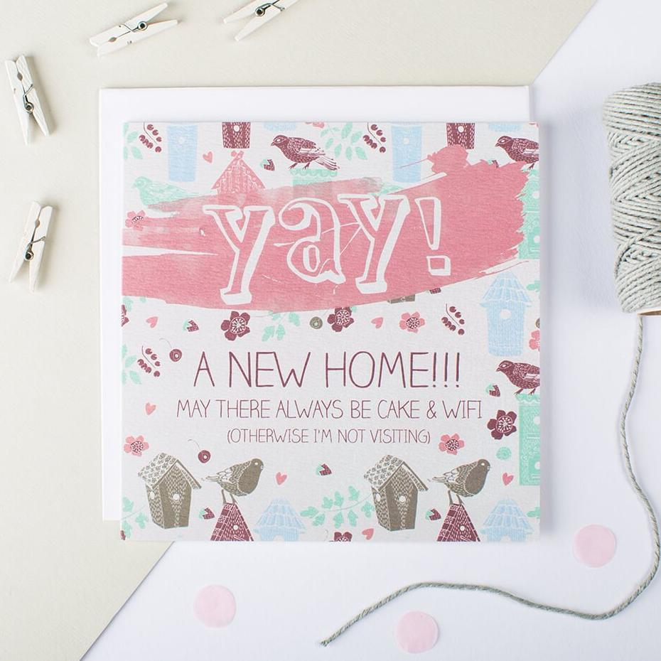 Yay! A New Home Card