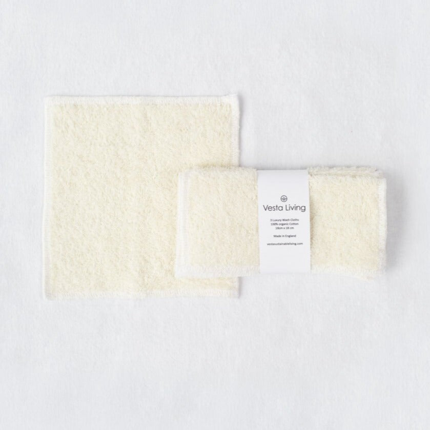 Luxury Pack of 3 Wash Cloths