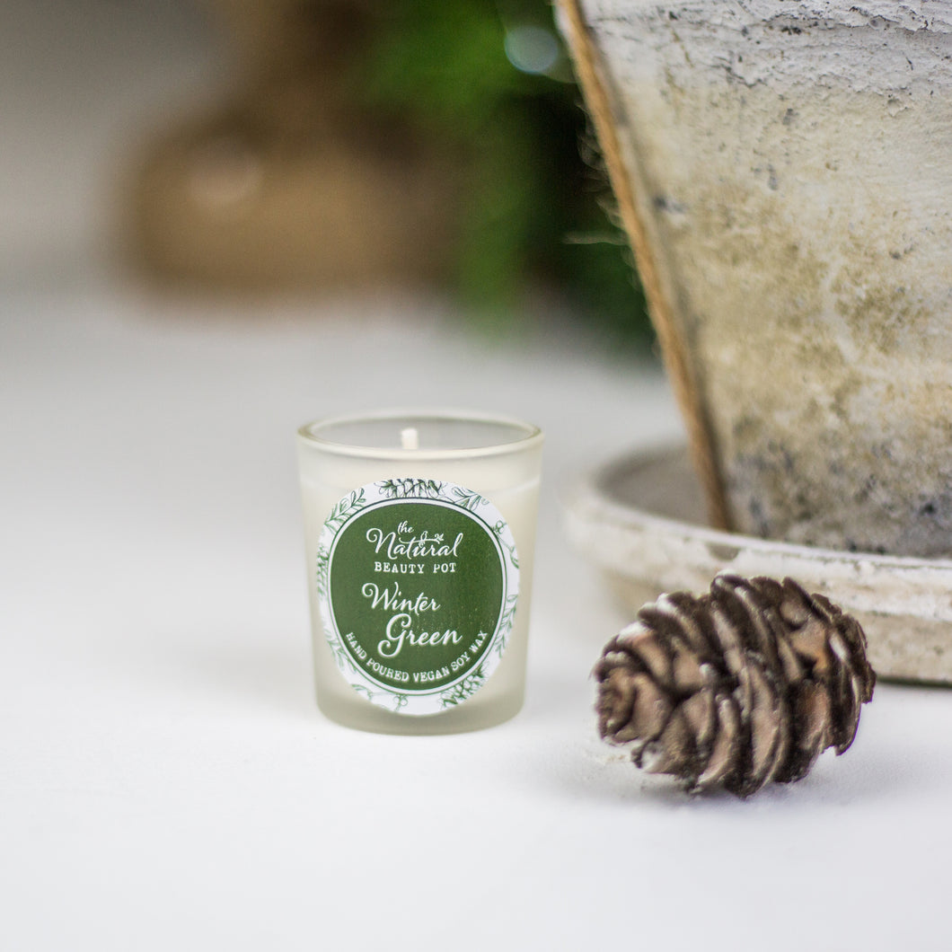 Winter Green Soy Wax Votive