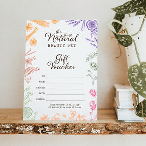 The Natural Beauty Pot Gift Card