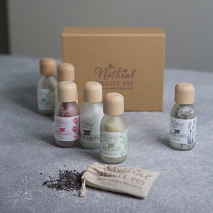 Luxury Natural Aromatherapy Bath Salts Gift Set