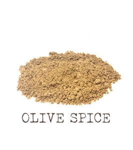 Olive Spice Mineral Foundation The Natural Beauty Pot
