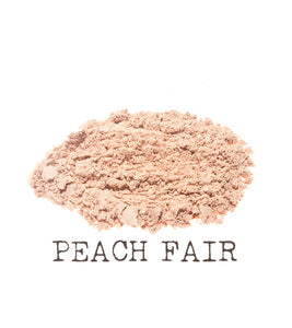Peach Fair Mineral Foundation The Natural Beauty Pot