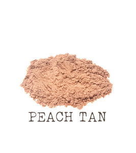 Peach Tan Mineral Foundation The Natural Beauty Pot