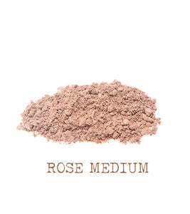 Rose Medium Mineral Foundation The Natural Beauty Pot