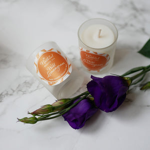 Wild Lemongrass Soy Candle Votive