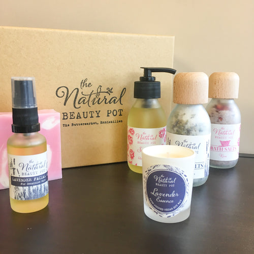 Lavender & Rose Pamper Vegan Gift Box