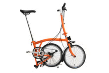 Brompton Faltrad Modell H3LD in Orange