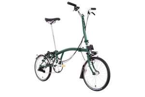Brompton Faltrad Modell H6LD in Racing Green