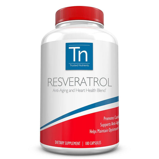 100% Pure Resveratrol Supplements By Trusted Nutrients