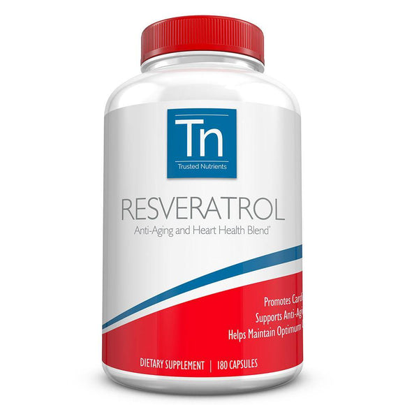 pure trans resveratrol supplements