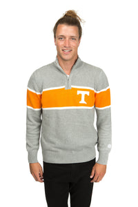 Tennessee Mock Ribbed Quarter Zip Sweater