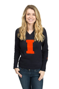 Illinois V Neck Sweater