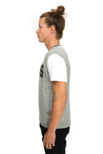 Michigan State Cable Knit Sweater Vest