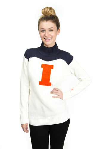 Illinois Cheer Sweater