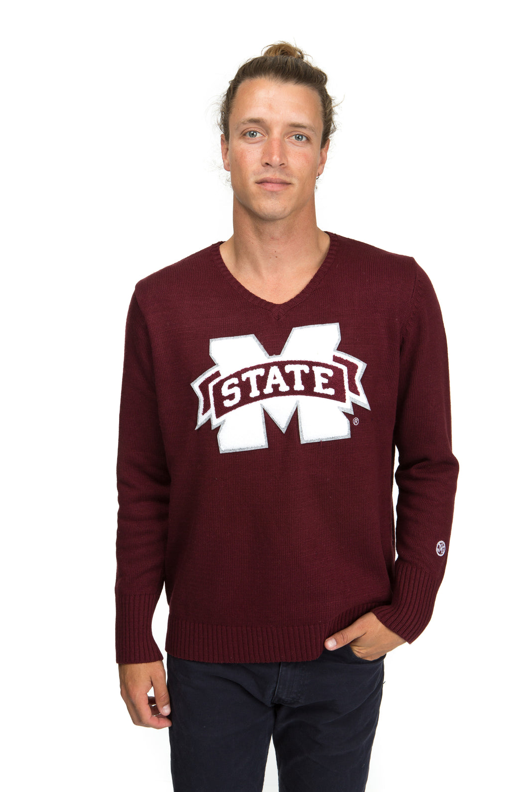 Mississippi State V-Neck Sweater