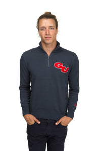 Gonzaga Quarter Zip Sweater
